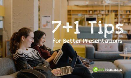 7+1 Tips για επιτυχημένες παρουσιάσεις μπροστά σε κοινό